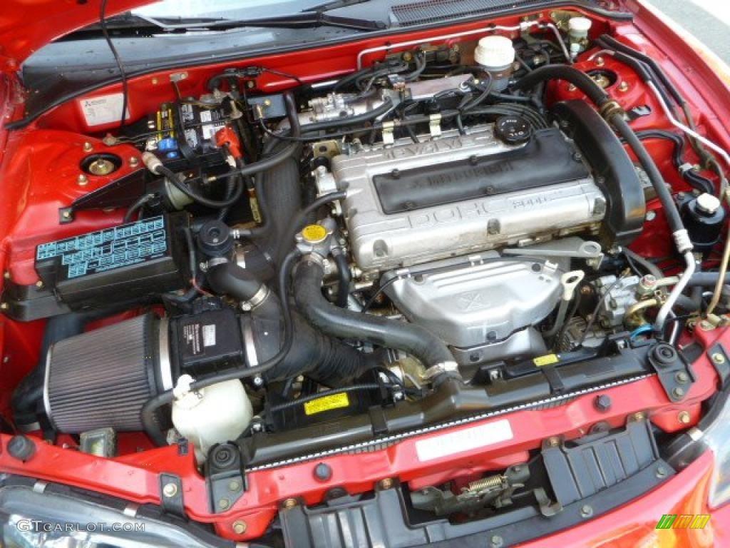 1997 Mitsubishi Eclipse Spyder Gs T Turbo 2 0 Liter Turbocharged Dohc 16 Valve 4 Cylinder Engine