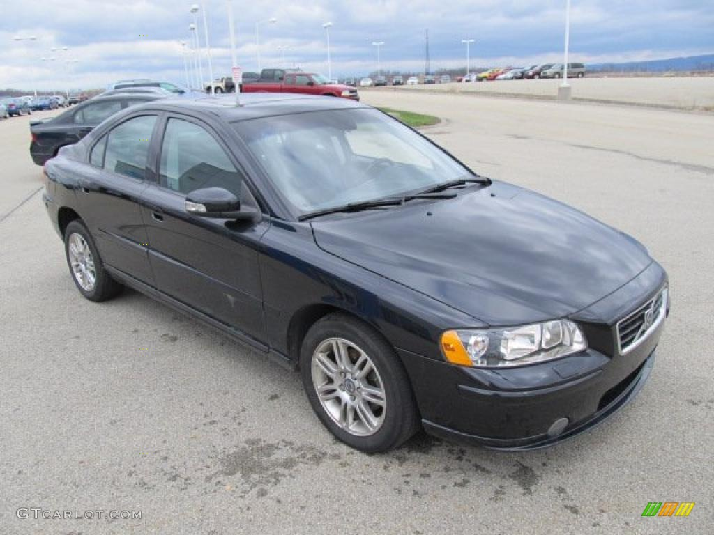 black sapphire metallic 2007 volvo s60 2 5t awd exterior photo 47596646. Black Bedroom Furniture Sets. Home Design Ideas