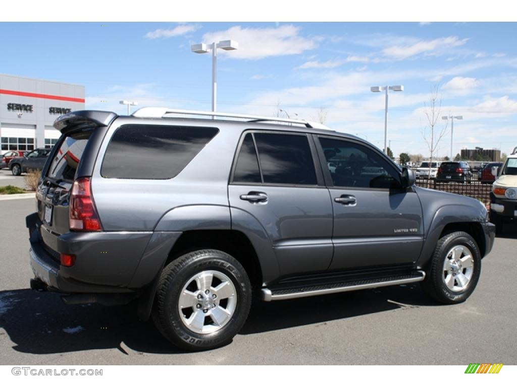 titanium metallic 2004 toyota 4runner limited 4x4 exterior. Black Bedroom Furniture Sets. Home Design Ideas