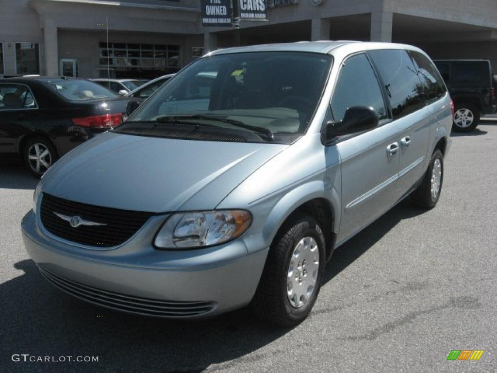 2003 Town & Country LX - Butane Blue Pearl / Gray photo #1