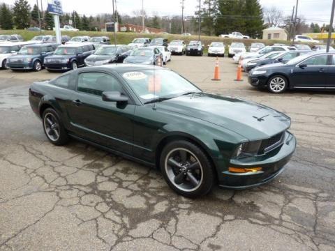 2008 Ford Mustang Bullitt Coupe Data, Info and Specs