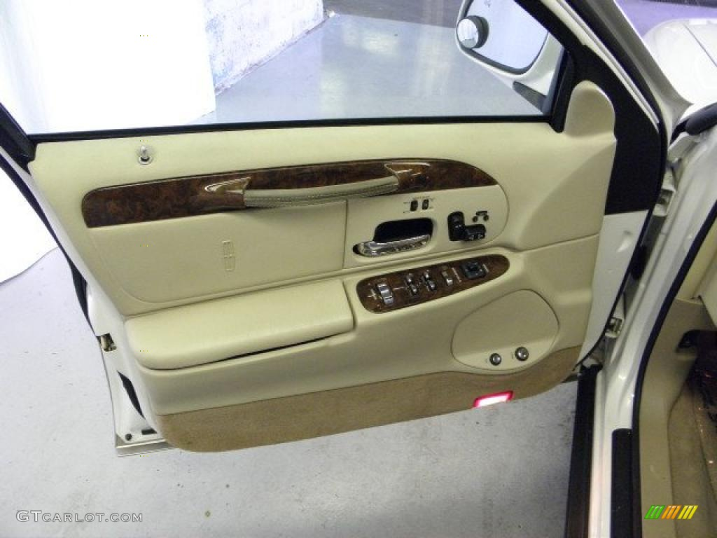 Car Door Panel : Lincoln town car signature door panel photos