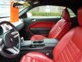 Red Leather Interior Photo for 2005 Ford Mustang #47611130
