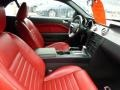 Red Leather Interior Photo for 2005 Ford Mustang #47611223