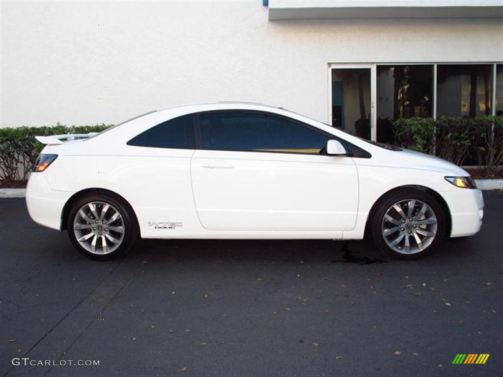 Taffeta White 2011 Honda Civic Si Coupe Exterior Photo