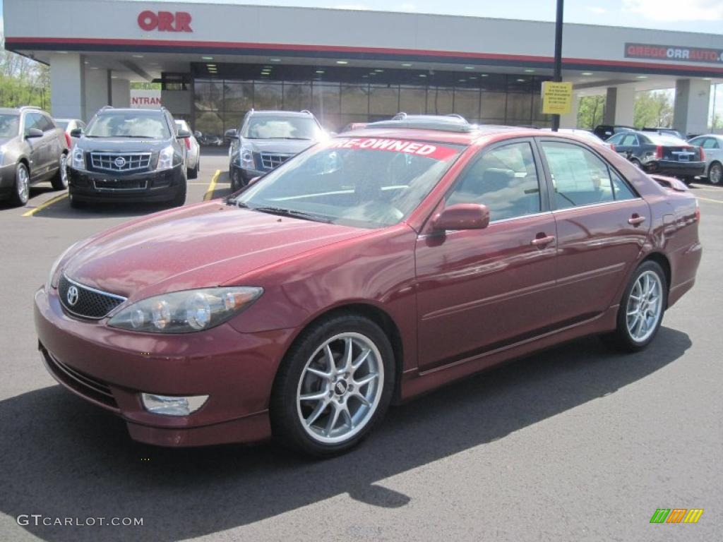 2006 salsa red pearl toyota camry se 47584505 car color galleries. Black Bedroom Furniture Sets. Home Design Ideas