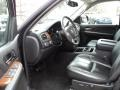 Ebony Black 2007 GMC Sierra 1500 SLT Extended Cab 4x4 Interior Color