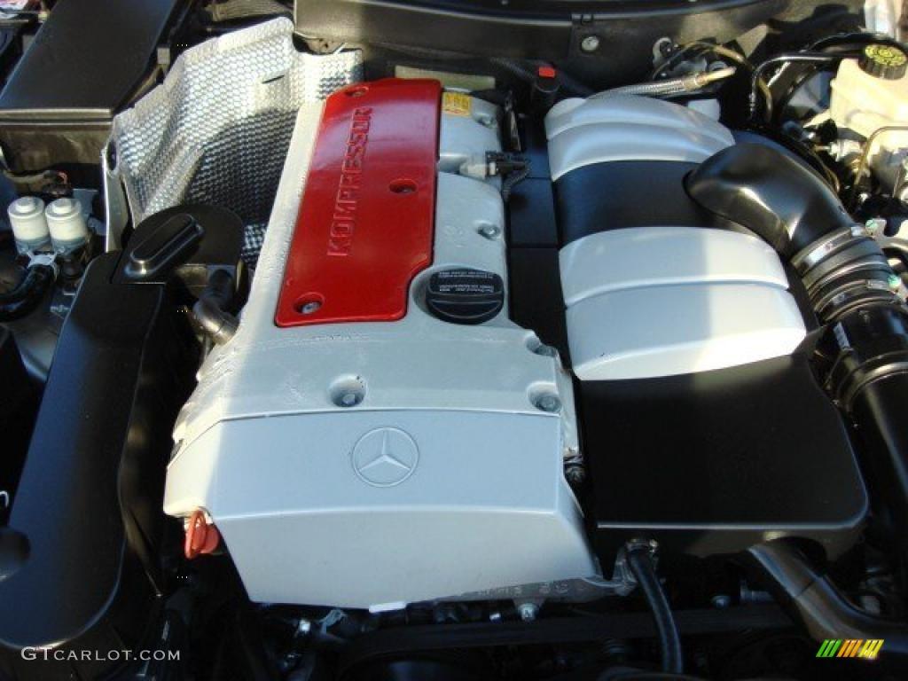 2001 mercedes benz slk 230 kompressor roadster 2 3l for Mercedes benz kompressor engine