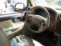 2002 GMC Envoy Light Oak Interior Steering Wheel Photo