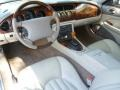 1998 Jaguar XK Ivory Interior Prime Interior Photo