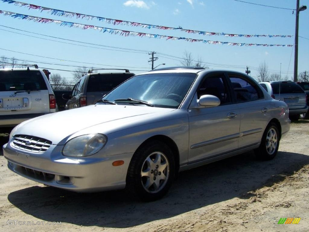 2000 Brilliant Silver Hyundai Sonata Gls V6 47636057