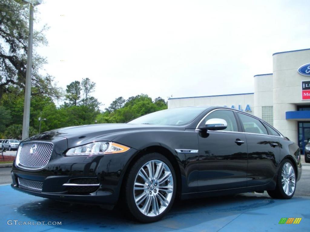Jaguar xjl supercharged black