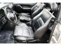 Black 2001 Volkswagen Cabrio Interiors