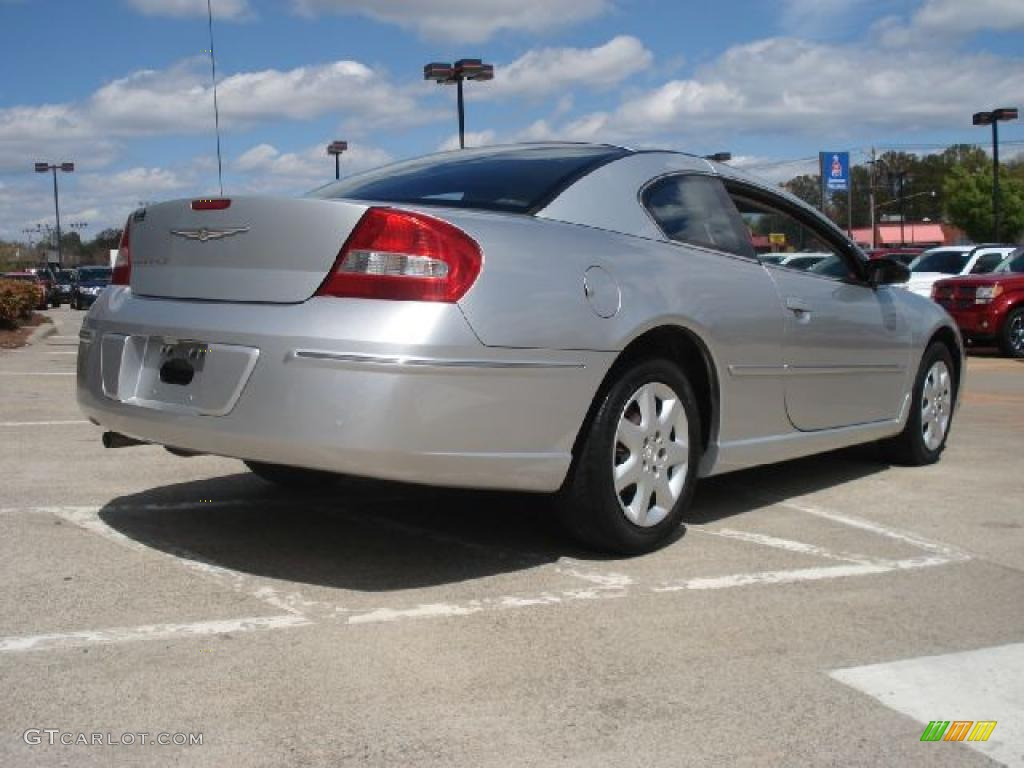 2004 Ice Silver Pearl Chrysler Sebring Coupe #47636079 Photo #3 ...