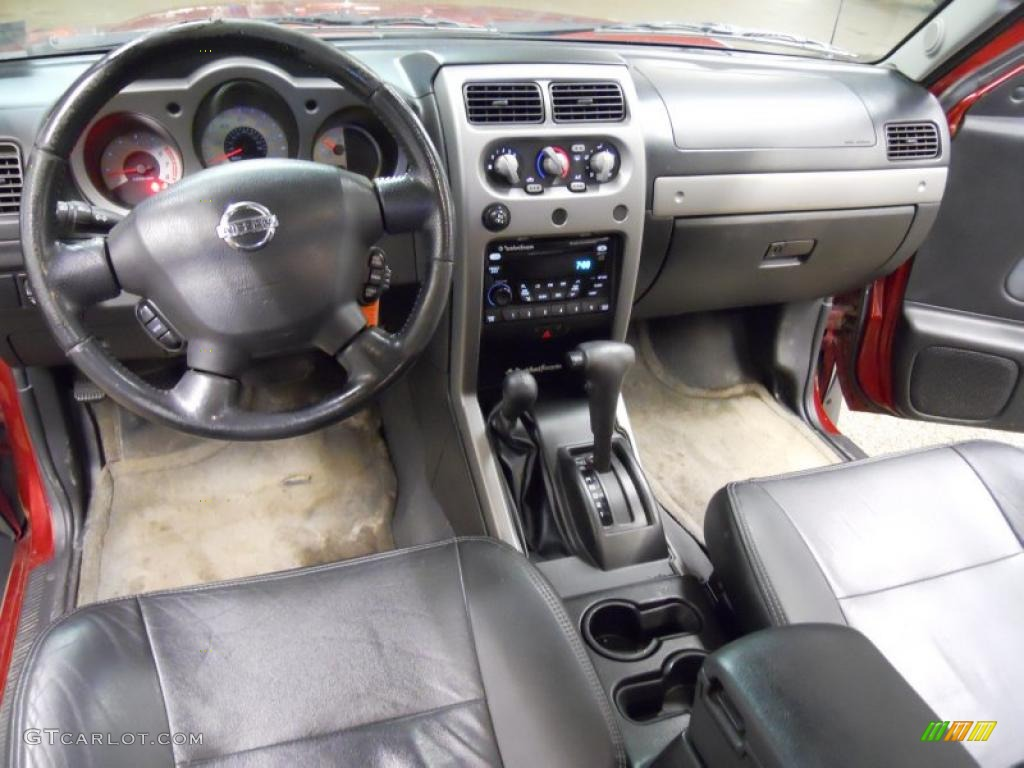 Charcoal Interior 2004 Nissan Xterra Se Supercharged 4x4