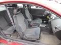 2004 ION 3 Quad Coupe Black Interior