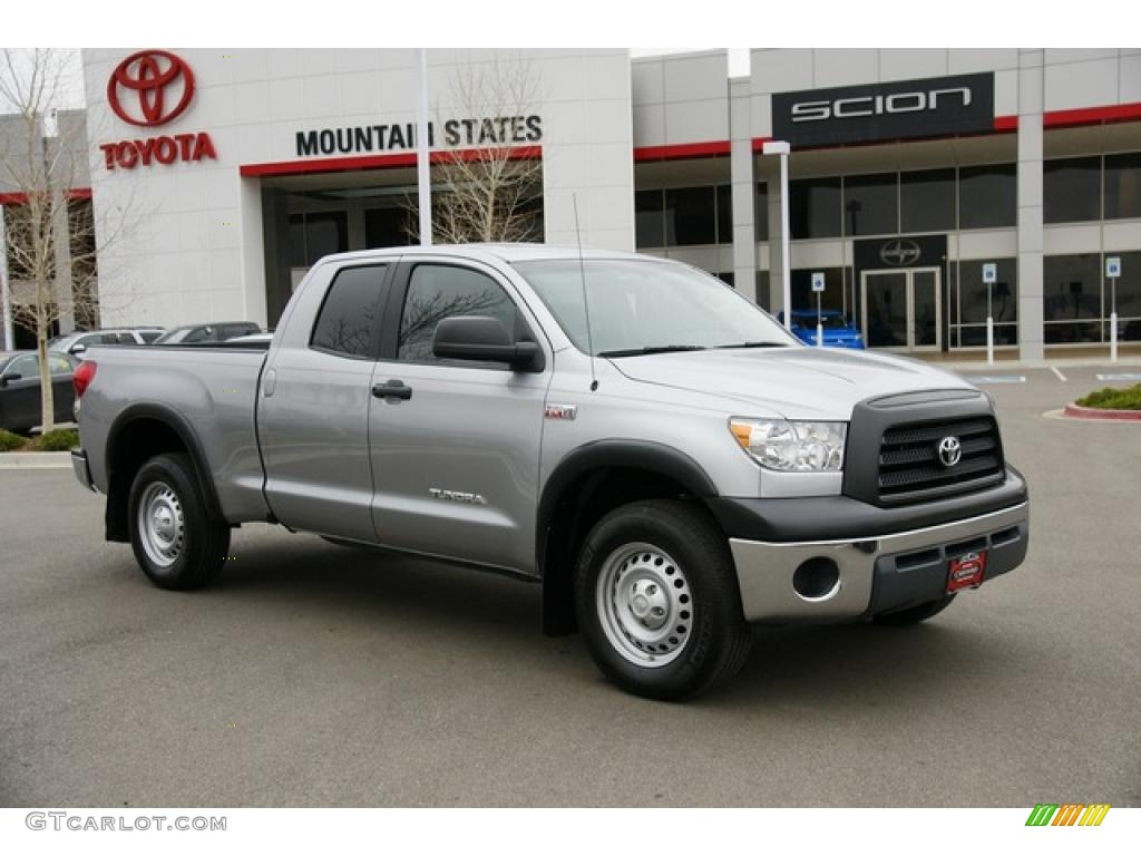 2009 silver sky metallic toyota tundra double cab 4x4. Black Bedroom Furniture Sets. Home Design Ideas