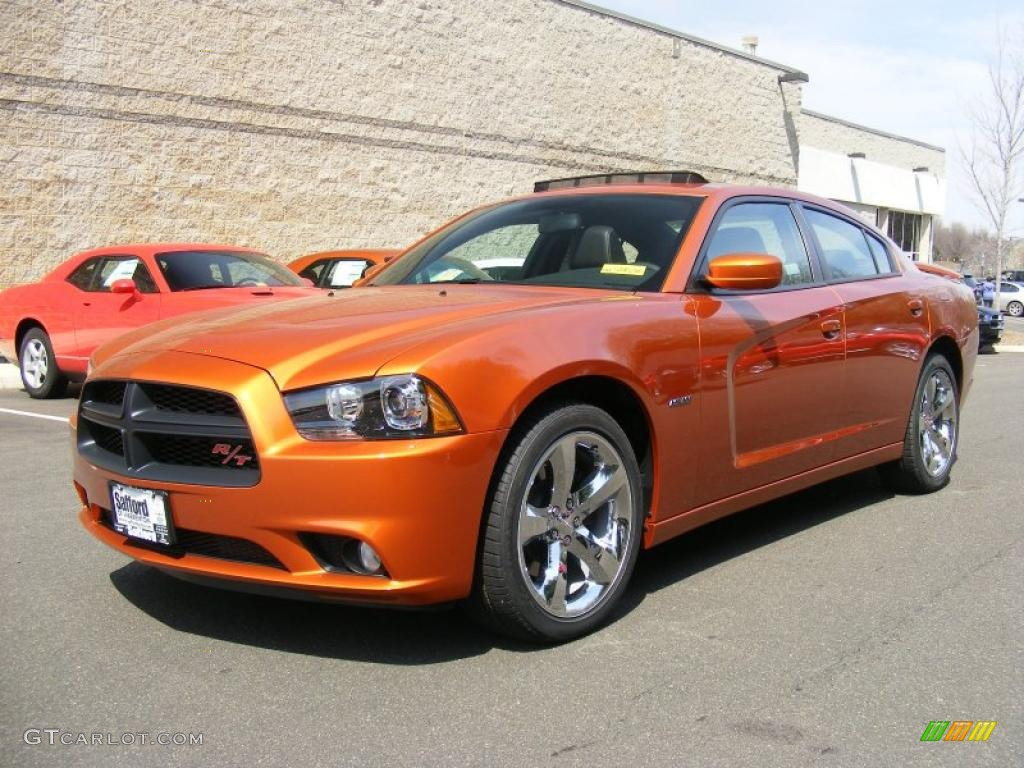 2011 toxic orange pearl dodge charger r t road track 47636120 gtcarl. Cars Review. Best American Auto & Cars Review