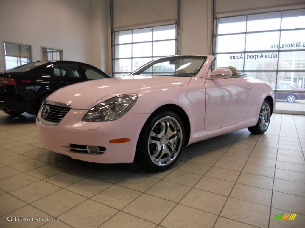 2006 sc 430 custom pink ecru photo 1