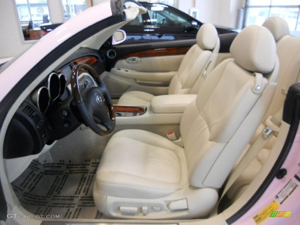 Ecru Interior 2006 Lexus Sc 430 Photo 47661010