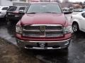 2011 Deep Cherry Red Crystal Pearl Dodge Ram 1500 Laramie Crew Cab 4x4  photo #2