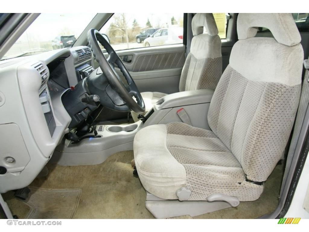 Beige Interior 1995 Gmc Sonoma Sls Extended Cab 4x4 Photo 47665060 Gtcarlot Com