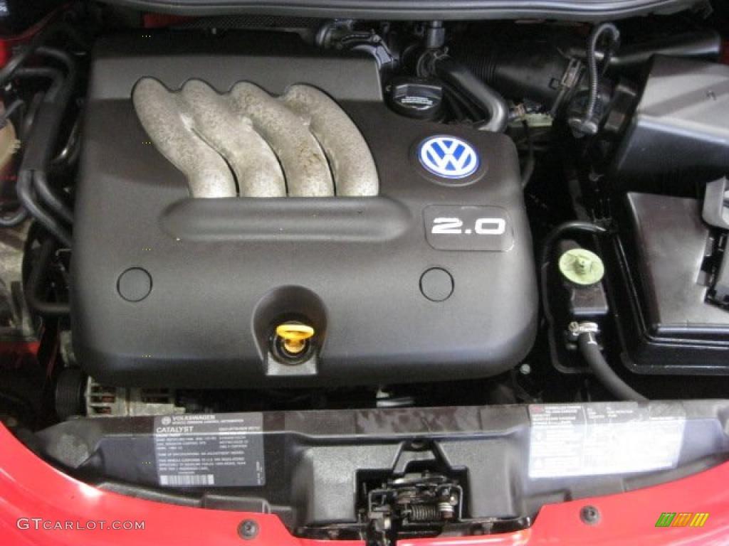 1999 Volkswagen New Beetle GLS Coupe 2.0 Liter SOHC 8 ...