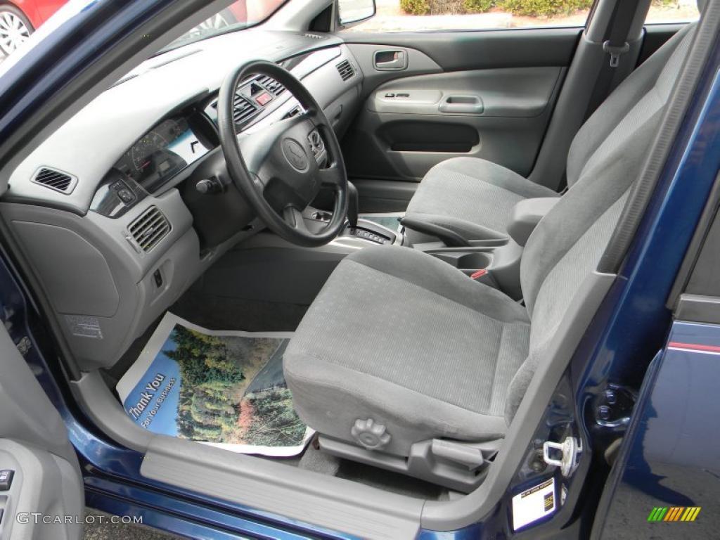 Gray Interior 2004 Mitsubishi Lancer Es Photo 47686009 Gtcarlot Com