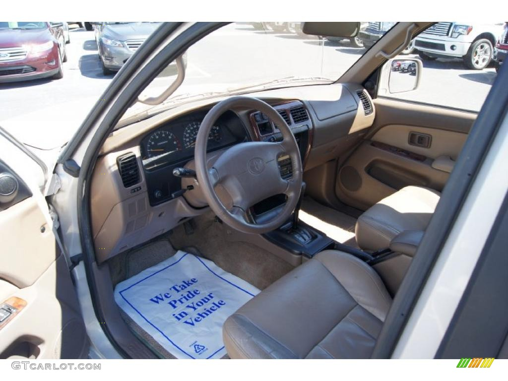 1998 Toyota 4runner Limited Interior Photos