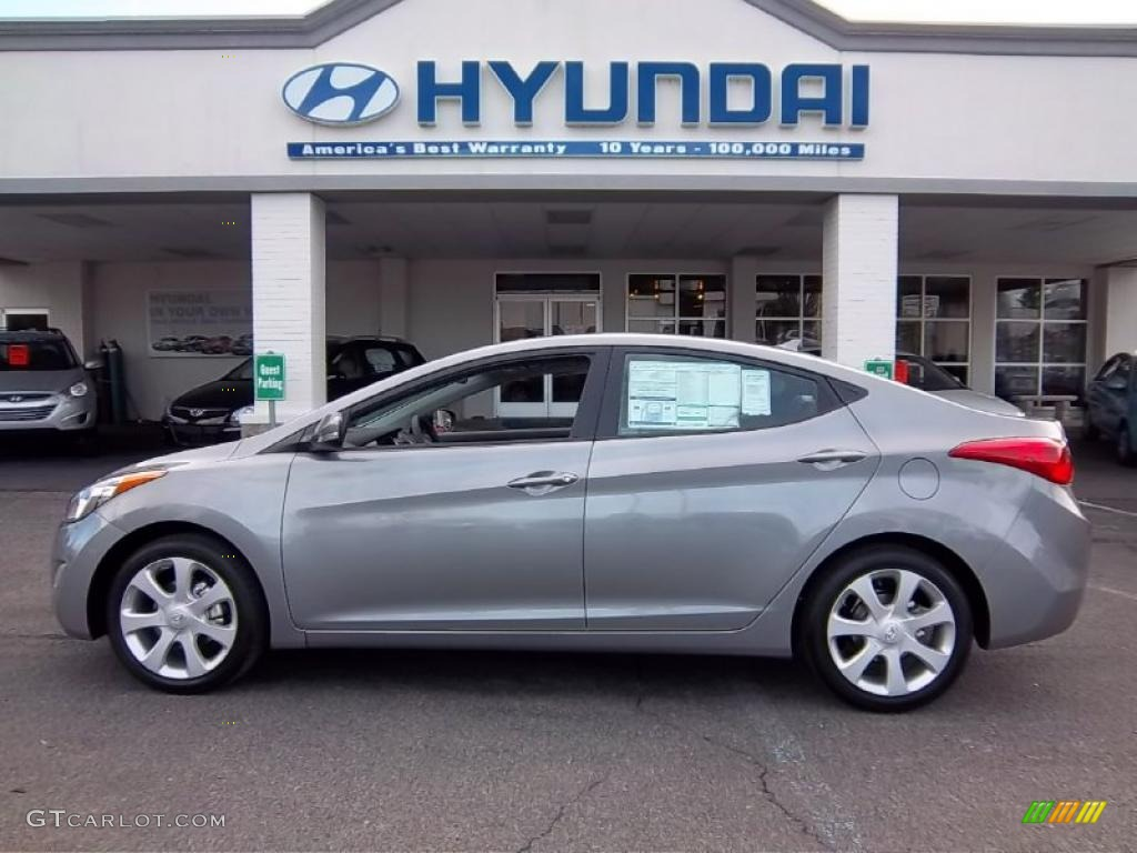 Titanium Gray Metallic 2011 Hyundai Elantra Limited Exterior Photo 47690496 Gtcarlot Com