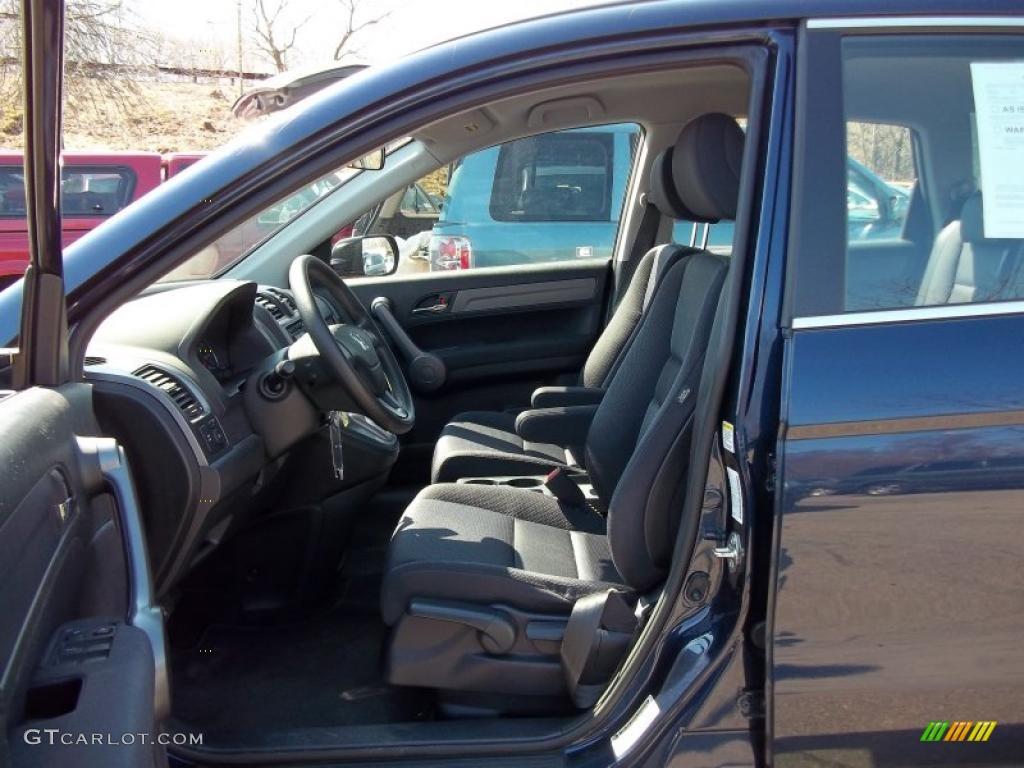 2008 CR-V LX 4WD - Royal Blue Pearl / Black photo #11