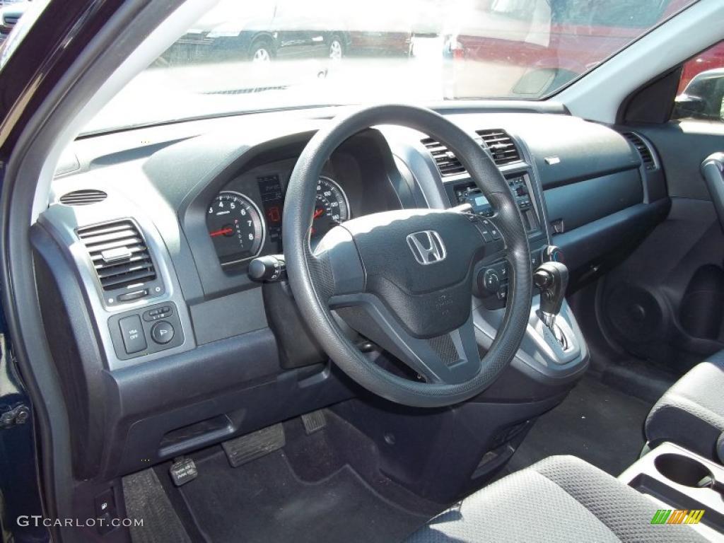 2008 CR-V LX 4WD - Royal Blue Pearl / Black photo #16