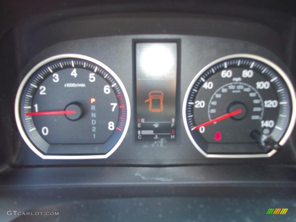 2008 CR-V LX 4WD - Royal Blue Pearl / Black photo #21