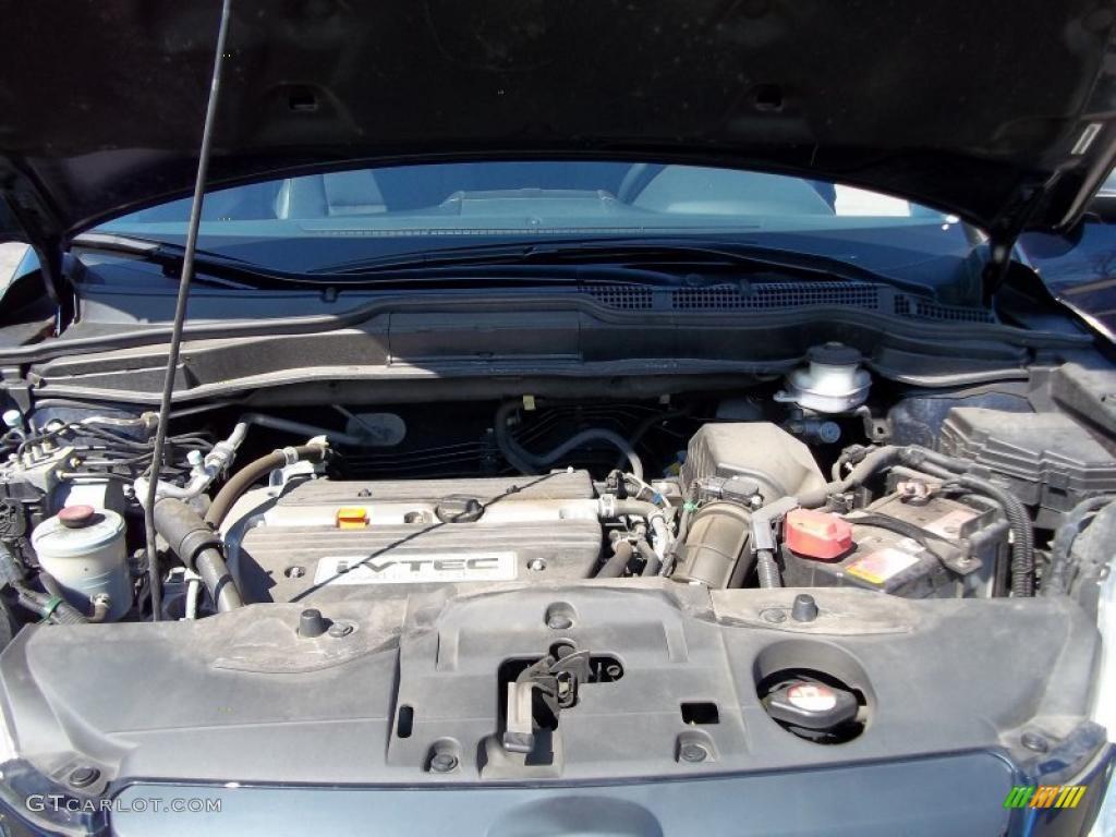2008 CR-V LX 4WD - Royal Blue Pearl / Black photo #24