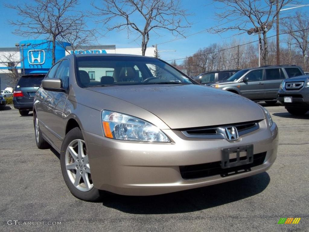 2004 desert mist metallic honda accord ex v6 sedan 47636543 car color galleries. Black Bedroom Furniture Sets. Home Design Ideas