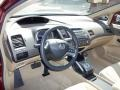 Ivory 2008 Honda Civic Interiors