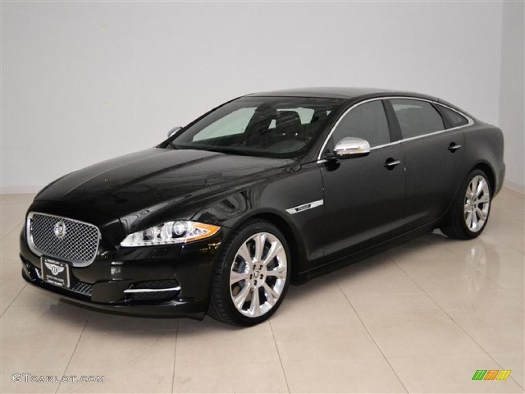 2011 ultimate black metallic jaguar xj xjl supersport 47701466 car color galleries. Black Bedroom Furniture Sets. Home Design Ideas