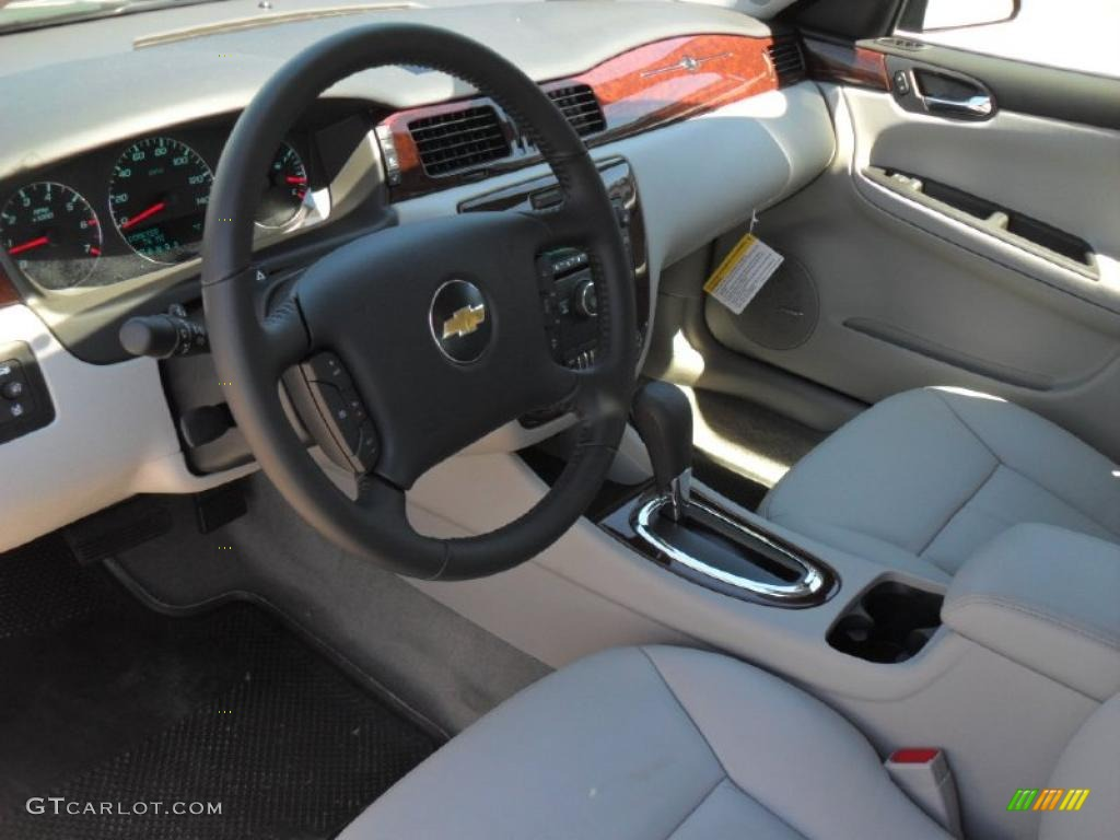 gray interior 2011 chevrolet impala ltz photo 47719187. Black Bedroom Furniture Sets. Home Design Ideas