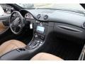 2009 CLK 550 Coupe Black/Cappuccino Interior