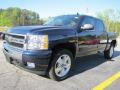 2011 Imperial Blue Metallic Chevrolet Silverado 1500 LT Crew Cab 4x4  photo #2
