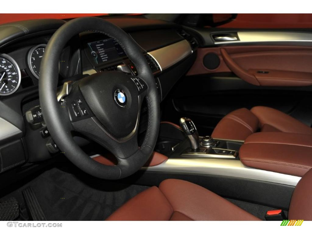 Chateau Red Interior 2010 Bmw X6 Xdrive50i Photo 47725739