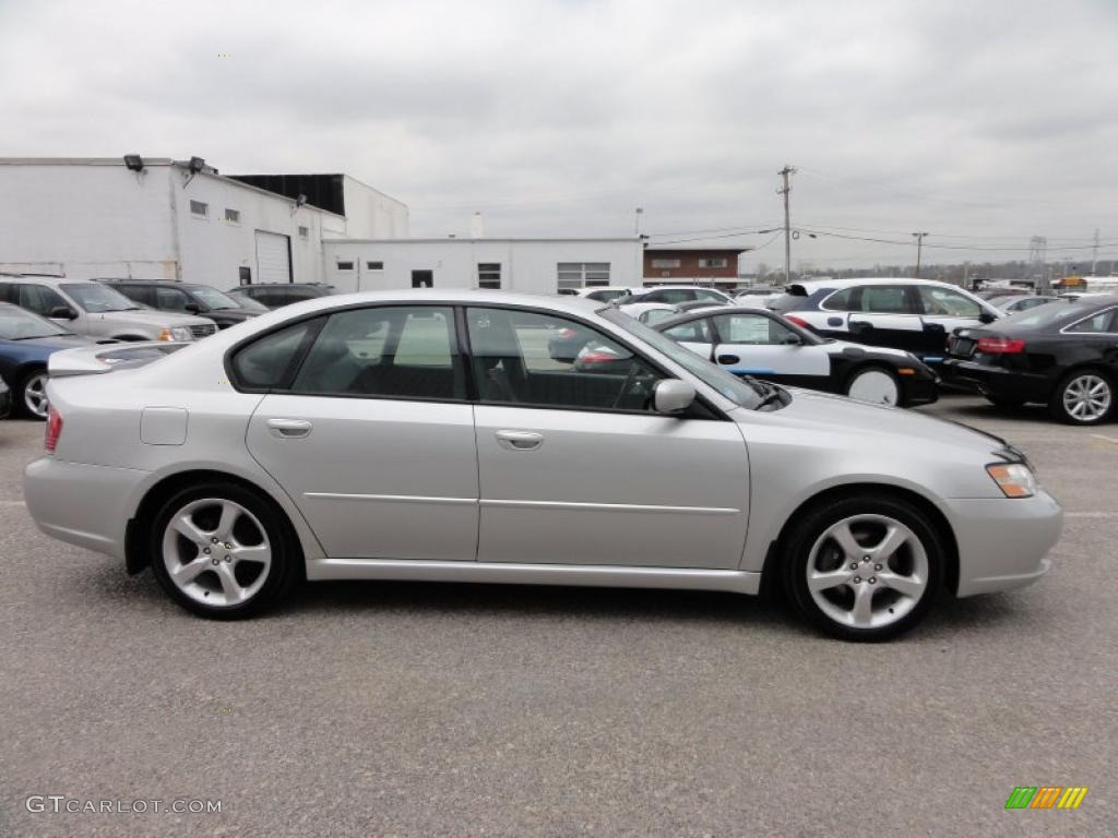 Brilliant Silver Metallic 2006 Subaru Legacy 2 5i Limited