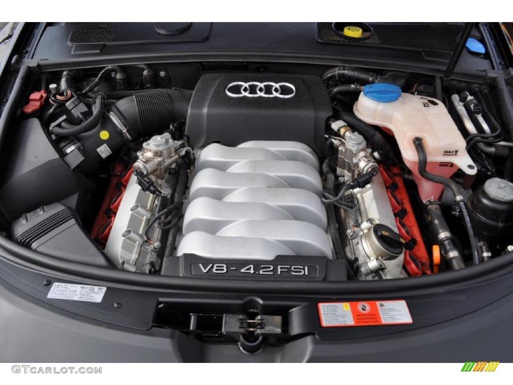 2008 Audi A6 4 2 Quattro Sedan 4 2 Liter Fsi Dohc 32 Valve