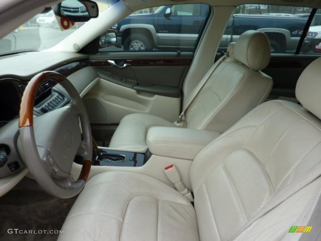 Oatmeal Interior 2002 Cadillac Deville Dts Photo 47734624