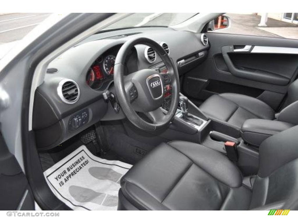 black interior 2006 audi a3 3 2 s line quattro photo 47734927 gtcarlot