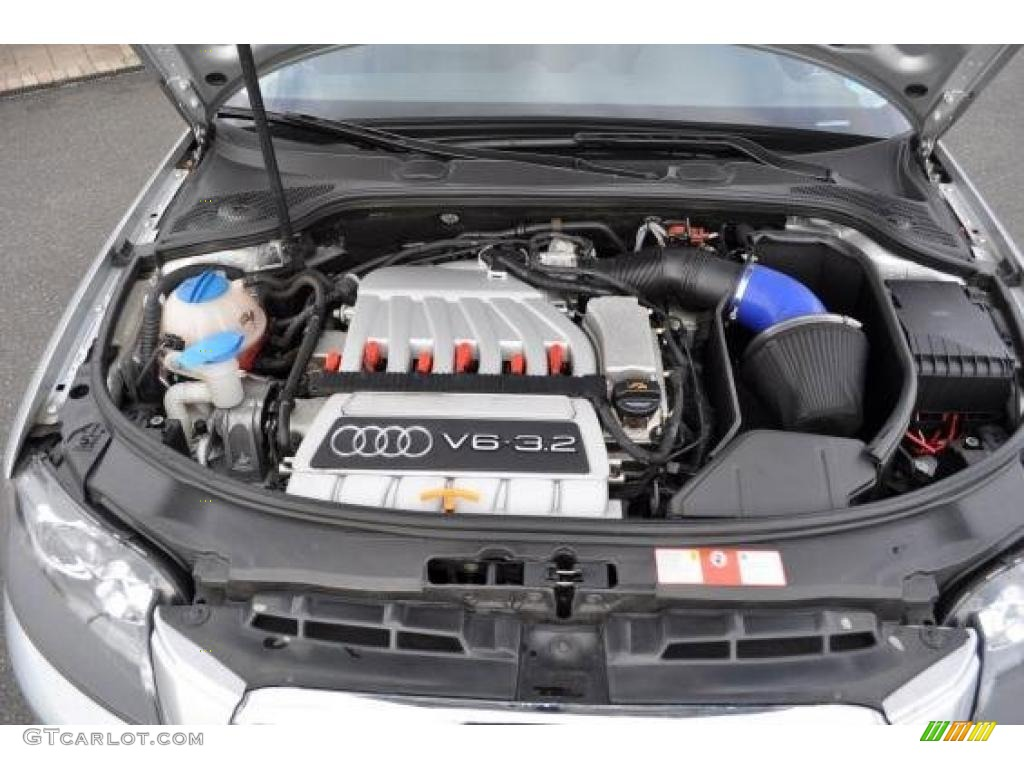 2006 audi a3 3 2 s line quattro 3 2 liter dohc 24 valve v6 engine photo 47734969. Black Bedroom Furniture Sets. Home Design Ideas