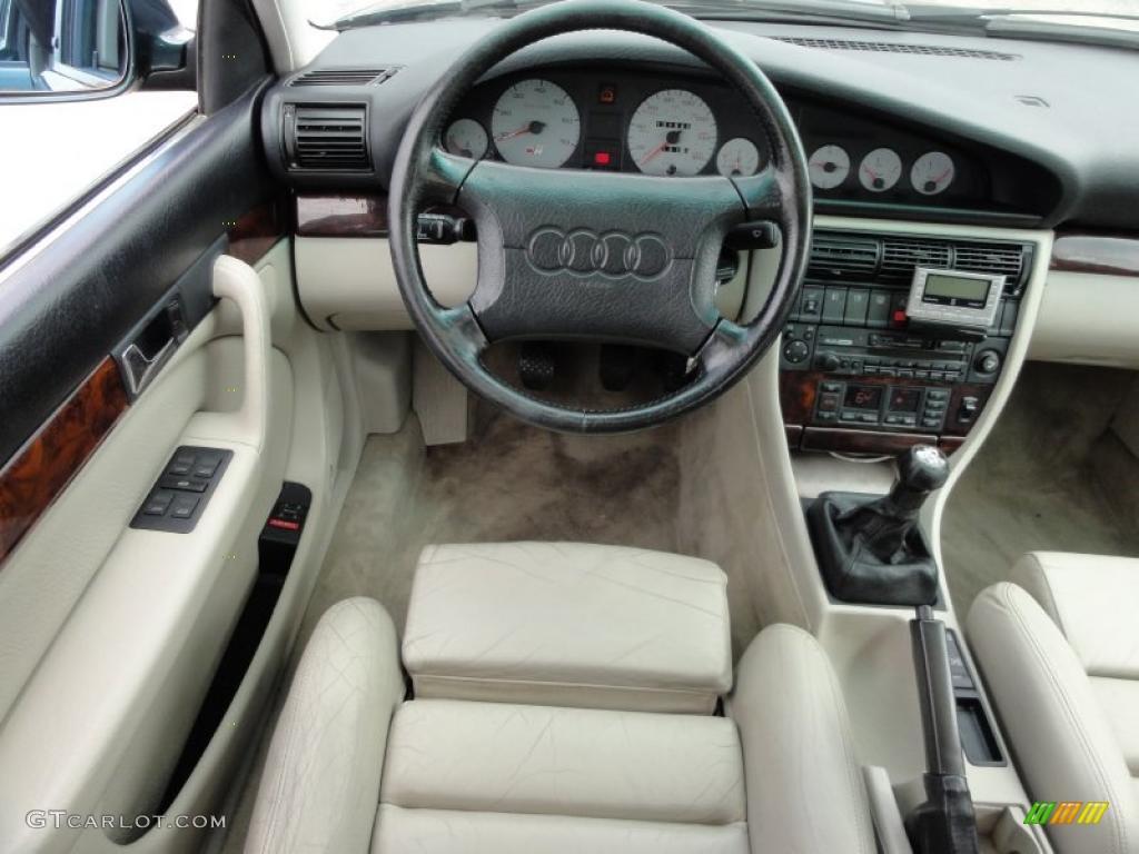 1994 Audi S4 Quattro Sedan Ecru Dashboard Photo 47739439