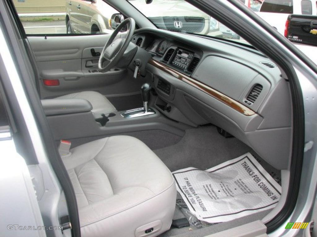Light Graphite Interior 2002 Ford Crown Victoria Lx Photo 47742457
