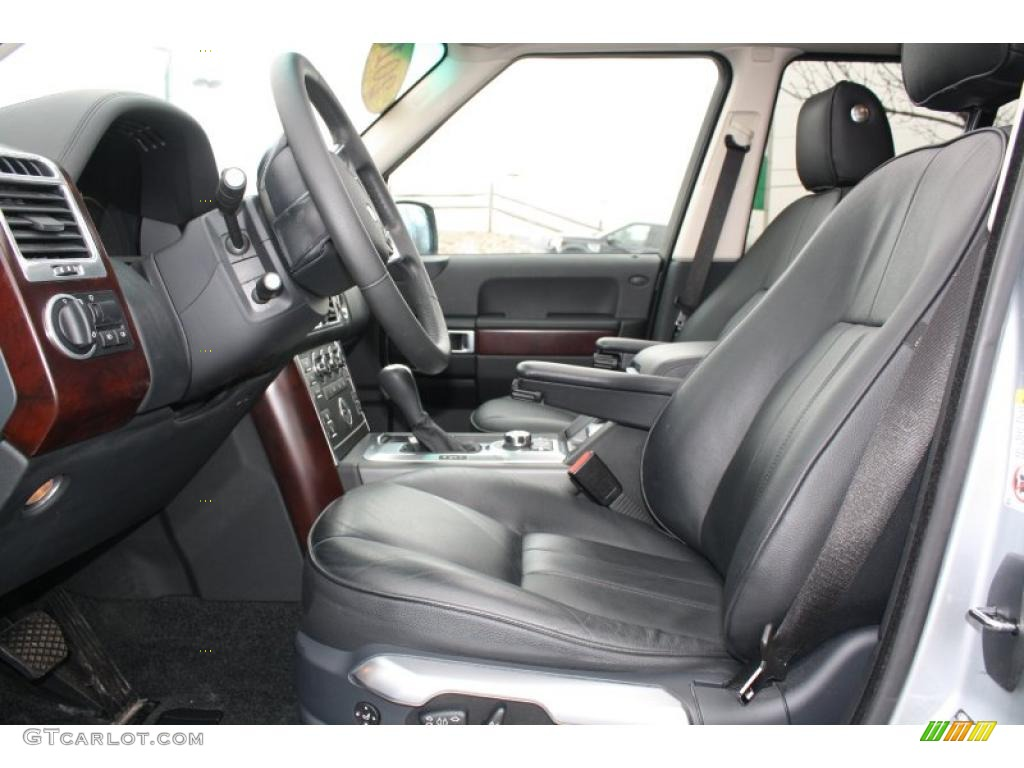 Jet Black Interior 2010 Land Rover Range Rover Hse Photo 47743780