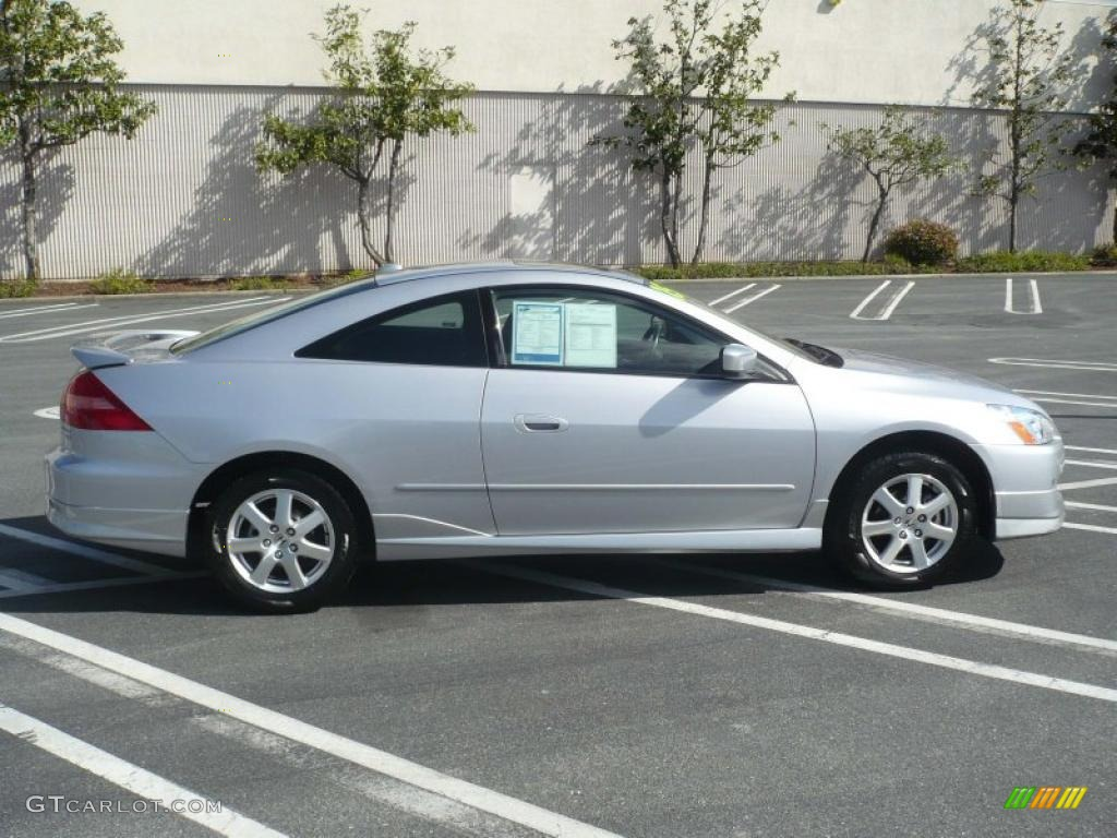 Satin silver metallic 2005 honda accord ex v6 coupe exterior photo 47746271 gtcarlot com